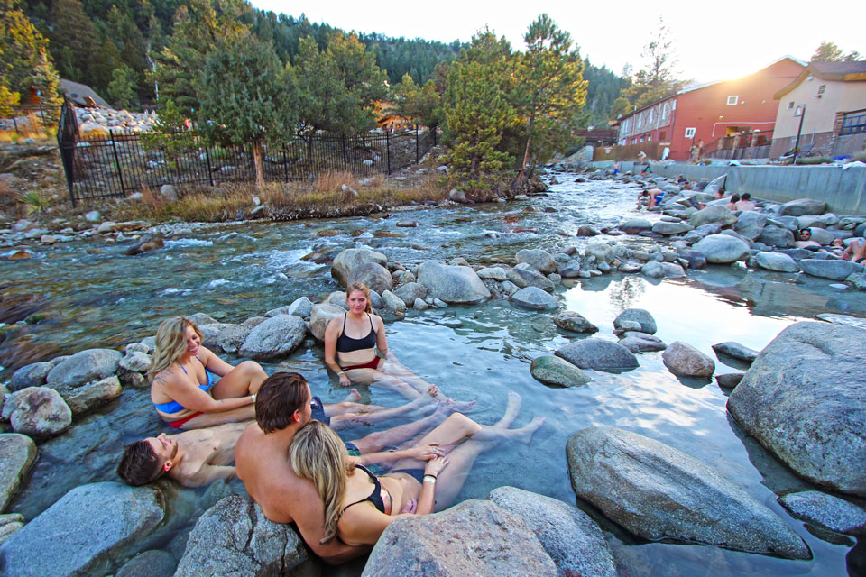Image of hot springs resort in Nathrop